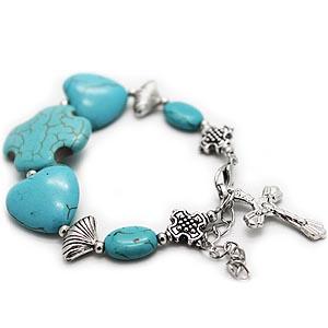 Venetian Marble Works Shell Bracelet