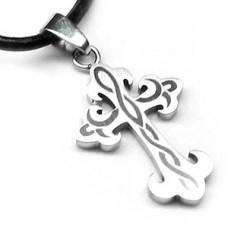 Celtic Surfer 2 Cross Necklace