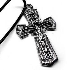 Western Crucifix Cross Necklace