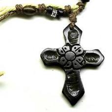 Hawaiian 2 Cross Necklace