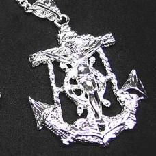 Sailor Cross 3 Cross Necklace