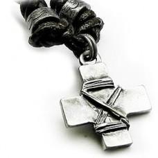 Vintage Faith Cross Necklace