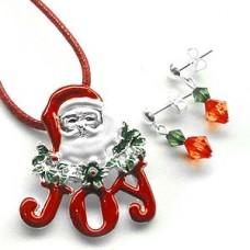 Santa Joy - Silver Charm Jewelry