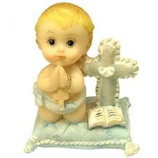 Praying Baby Boy Figurine